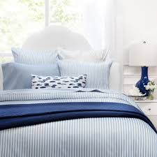 striped bedding the larkin blue crane u0026 canopy