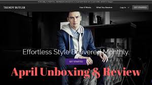 Monthly Clothing Subscription Boxes Trendy Butler Review April 2017 Monthly Subscription Box Youtube
