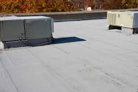 Flat Roof Modified Bitumen Flat Roof No Patches Roofing Contractors Norwalk Ct