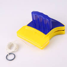 magnetic hand type brushes cleaning airbrush double side glass