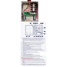 duplex alternator control panel 1221w124h
