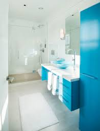 bathroom design with ocean view outside the window and have the