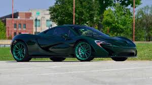 mclaren p1 the only green carbon mclaren p1 in the world is heading to auction