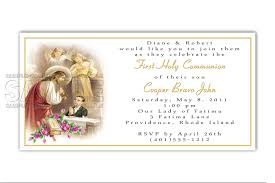 First Communion Invitations Cards Free Online First Holy Communion Invitation Cards Infoinvitation Co