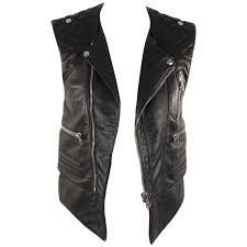 leather biker vest vintage balenciaga jackets 24 for sale at 1stdibs