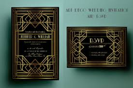 gatsby wedding invitations deco wedding invitation template gatsby wedding
