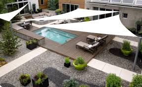 Swimming Pool Canopy by A Different Way To Create Shade With Shades Exteriors Porches