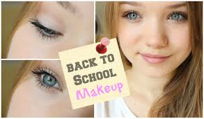 school for makeup everyday makeup back to school 2