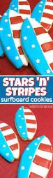 patriotic surfboard sugar cookies recipe in the kids u0027 kitchen