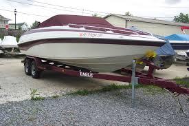 1997 24 u0027 crownline open bow w custom trailer