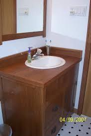 Mission Bathroom Vanity by Arts And Crafts Bathroom Vanity Mirror And Medicine Cabinet By