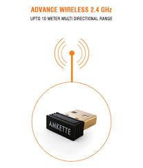 amkette optimus desktop wireless keyboard and mouse combo buy