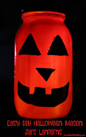 halloween mason jar crafts easy diy halloween mason jar lanterns project