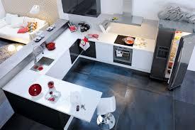 cuisine fonctionnelle plan charmant exemple de cuisine ouverte 3 une cuisine fonctionnelle