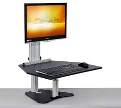 Adjustable Height Computer Desk by Wallaby Adjustable Height Desk Ergo Desktop