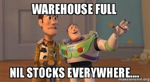 Warehouse Meme - warehouse full nil stocks everywhere buzz and woody toy story