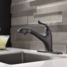 rubbed kitchen faucet the unique design of the rubbed bronze kitchen faucet