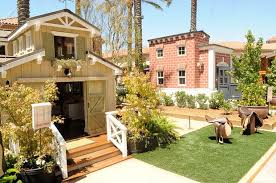 Extravagant Backyards - extravagant children u0027s playhouses are auctioned off in los angeles