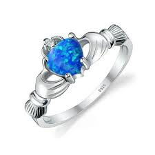 engagement rings with blue stones aliexpress buy wedding rings blue jewelry
