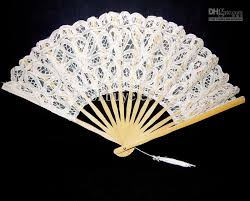 lace fans 2018 vintage white lace fan for wedding bridal party