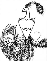 peacock drawing clipart panda free clipart images