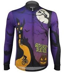 halloween in usa atd spokey rider halloween bike jersey made in usa