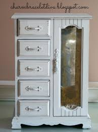 our hopeful home vintage jewelry armoire upcycle with dixie belle