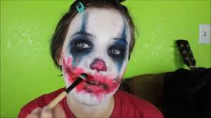 clown halloween costume ideas easy scary evil clown makeup tutorial even though it u0027s not