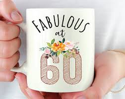 gifts for turning 60 years sixty gift ideas etsy