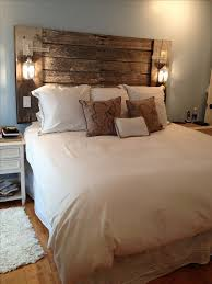 king headboard with lights with our new night stands and restained oak dresser i d love a