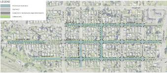 Map Seattle Eastside Wire Get by Oakland Neighborhood Permeable Pavement Project City Of T