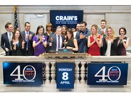 photo highlights from crain s ringing of the closing bell at nyse