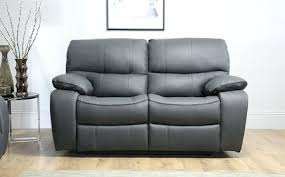 Grey Leather Recliner Grey Leather Reclining Sofa Adrop Me