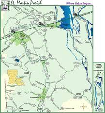 Louisiana Parish Map by Maps Of Parish St Martin Parish Louisiana