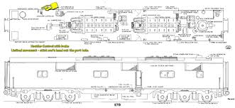 train floor plan oil electric e 7 roll out train of tomorrow
