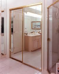 mirrored creative mirror u0026 shower