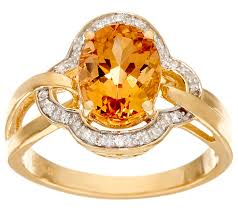 topaz rings prices images Imperial topaz diamond ring 14k gold 2 00 cttw page 1