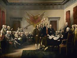 at its core the declaration of independence was a plea for help