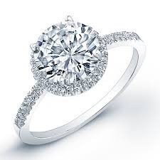 diamond rings round images Stunning u cut pave side stones round halo wedding sets in white gold jpg