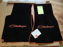 dodge challenger floor mats finally got my floor mats and door sills dodge challenger forum