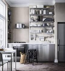 Stainless Steel Kitchen Shelves by Beach Cottage Kitchen Organization Part I Kitchens