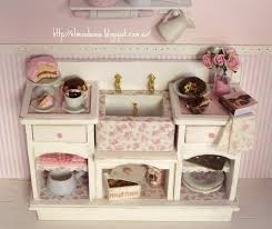 156 best dollhouse kitchens images on pinterest miniature