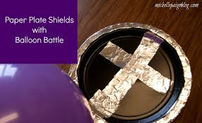 michelle paige blogs sunday craft shield of faith with