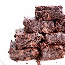 vegan chocolate brownie cookies gluten free oat flour vegan