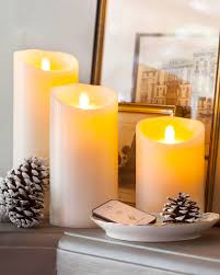interior living room holiday sofas fireplace table candles