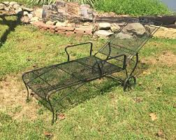 Butterfly Patio Chair Vintage Wrought Iron Patio Furniture Etsy
