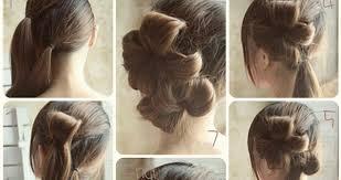 flower hair bun flower bun hair style tutorial step by step b g fashion