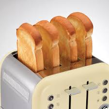 Morphy Richards Toaster Cream Morphy Richards Accents Four Slice Toaster