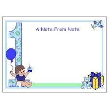 baby s 1st birthday babys 1st birthday thank you note cards baby boy mandys moon