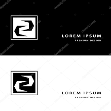 creative icon monogram design elements with business card graceful